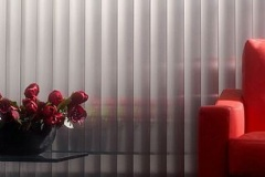 Vertical blinds Oxfordshire, by Kingston Blinds.