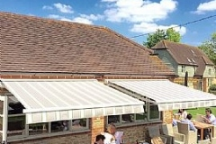 Awnings in Reading and the surrounding areas by Kingston Blinds.
