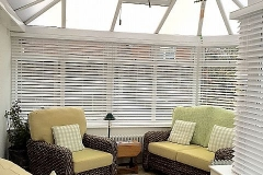 Suppliers of conservatory blinds in Witney and the surrounding areas.
